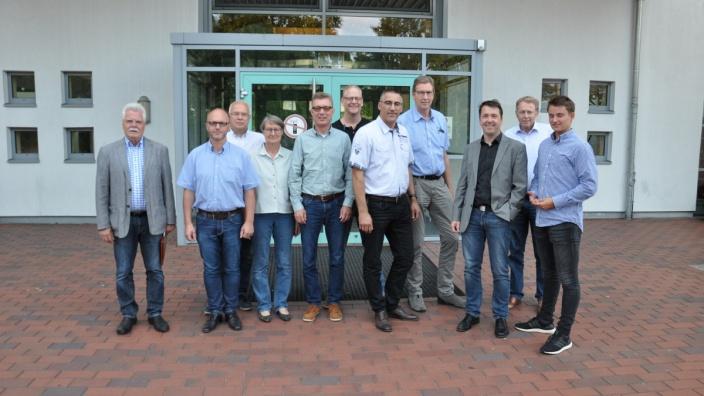 Neue Oberschule auf gutem Weg / CDU-Fraktion informiert sich vor Ort